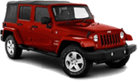 Jeep Wrangler 4 Door Rental