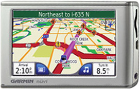 Garmin Nuvi 660 GPS Satellite Navigation