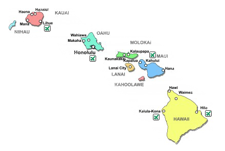 Airports In Maui Hawaii Map.Hawaii Car Rental Locations Airport In Town Avis Budget