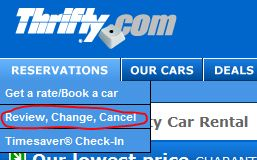 Review, Change or Cancel Your Thrifty Hawaii Car Rental Reservation